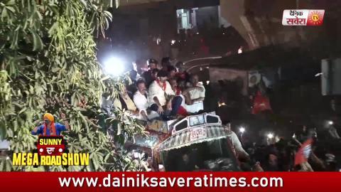 Ecxlusive Video: देखिए Sunny Deol की Pathankot में Grand Entry