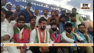 Congress Leader on 24Hrs Hunger Strike At Gandhi bhavan