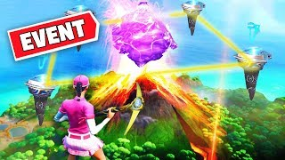 ????*NEW* FORTNITE VOLCANO Rune Event Happening Now! LOOT LAKE EVENT Fortnite Battle Royale!