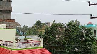 Cyclone FANI Started,Bhubaneswar,