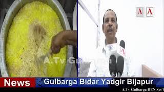 Gulbarga Ke Muslim Chowk Pe Azeem Fast Food Restaurant Ka iftetah A.Tv News 2-5-2019