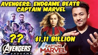 Avengers Endgame BEATS Captain Marvels Lifetime Collection In Just 5 Days
