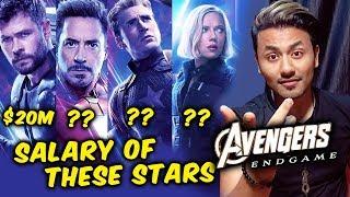 Avengers Endgame Star Cast SALARY Revealed | Robert Downey Jr, Chris Evans, Scarlett