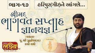 શ્રીમદ્દ ભાગવત સપ્તાહ જ્ઞાનયજ્ઞ || Pu. Jigneshdada (Radhe Radhe) || Haripur(Gir) || Part-17