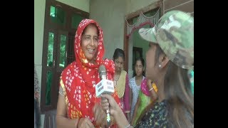 गांव रईया में महिलाओं ने कह दी कृषि मंत्री के प्रति ऐसी बात देखिए रिपोर्ट में