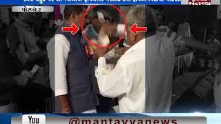 Porbandar: Money Showered on BJP candidate Ramesh Dhaduk in Dayro organized by Khant Rajput Samaj