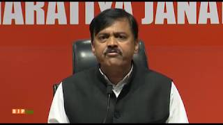 Press Briefing by GVL Narasimha Rao at BJP Head Office, New Delhi : 03.05.2019