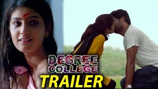 Degree College Movie Trailer | Varun | Divya | 2019 Latest Telugu Movie Trailers