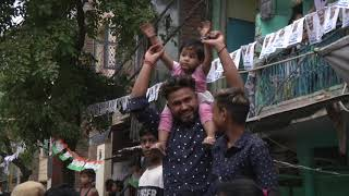 AAP National Convenor Arvind Kejriwal Road Show from East Delhi Lok Sabha