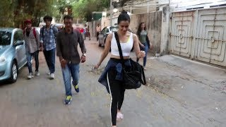 Shraddha Kapoor Spotted At Sunny Super Sound For Dubbing