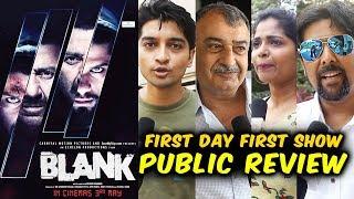 BLANK Public Review | First Day First Show | Sunny Deol, Karan Kapadia, Ishita Dutta