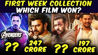 Avengers Endgame Vs Baahubali 2 Vs Tiger Zinda Hai Vs Dangal | Which Film Won The Box Office?
