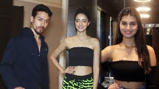 Tiger Shroff Ananya Panday And Tara Sutaria SPOTTED At JW Marriott | Student Of The Year Promotion