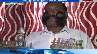 Independent candidate from Sabarkantha seat turns centre of attraction for his long mustache