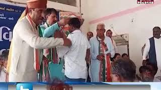 Banaskantha: Sarpanch Sangh president Girirajsinh Vaghela joins Congress