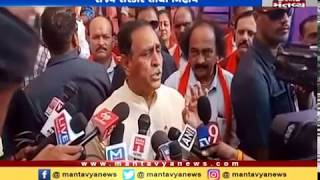 Man slapped Hardik Patel is nothing to do with BJP: CM Vijay Rupani