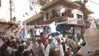AAP National Convenor Arvind Kejriwal Road Show from North East Delhi Lok Sabha