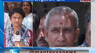 Gadhada:People reached the house of Justice SM Soni over Gopinathji Dev Board Election issue