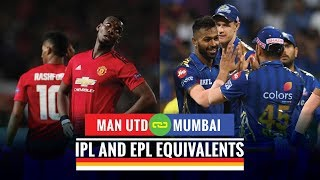 5 IPL teams and their EPL equivalents