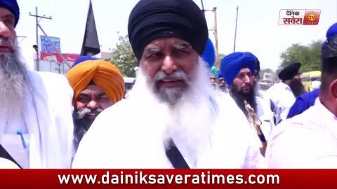 Video- श्री गुरु ग्रंथ साहिब जी की बेअदबी का इंसाफ लेने  के लिए Dhian Singh Mand ने शुरू किया रोष March
