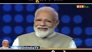 पीएम मोदी ने बताया वो पूरा किस्सा जब नवाज़ शरीफ़ के बुलावे पर गये थे पाकिस्तान