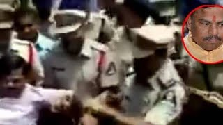 BJP MLA T Raja Singh | Arrested By Hyderabad City Police | At Amberpet Near Ek Khana Masjid - DT