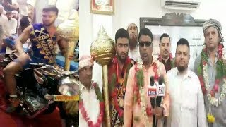 Telangana Kesri Winner From Barkas Ba Akhada | Celebration In Barkas | @ SACH NEWS |