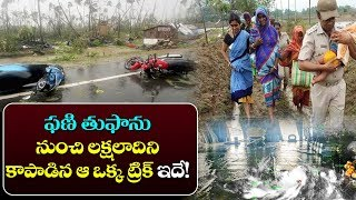 తుఫాను నుంచి లక్షలాదిని కాపాడిన ట్రిక్!   Fani Cyclone Latest News   Fani Tufan Live   Top Telugu TV