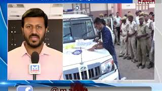 Gujarat: Security has been tightened in the view of Lok Sabha Election