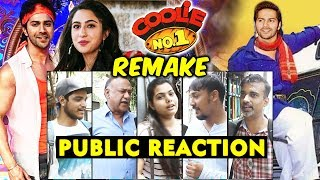 Coolie No.1 Remake | Varun Dhawan And Sara Ali Khan | PUBLIC REACTION