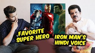 Avengers Endgame | Rajesh Khattar, The Voice Of Iron Man PICKS His Favorite Super Hero