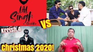 Laal Singh Chaddha Vs Krrish 4 Vs Ajay Devgn Ranbir Kapoor Untitled Next Clash On Dec 2020!