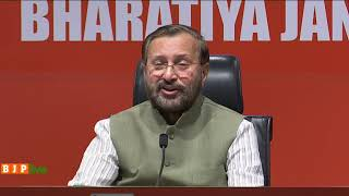 Press Conference by Shri Prakash Javadekar at BJP Head office, New Delhi : 06.05.2019