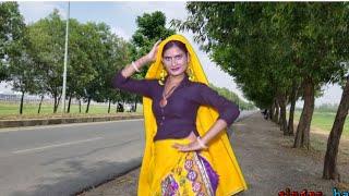 रास्ते मे किया लडकी ने सडक़ पर जम कर डांस//Rajasthani Folk Song//Singer Balli Bhalpur and Neetu tomar