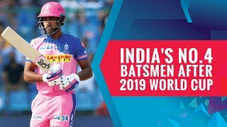 5 Players who can bat at No.4 for India after the World Cup 2019