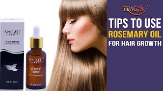 Watch Tips To Use Rosemary Oil For Hair Growth