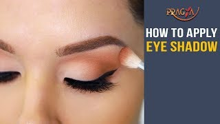 Watch How To Apply Eye Shadow | Eye Makeup Tips