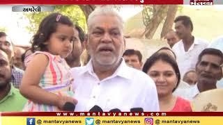 Amreli: Union minister Parshottam Rupala casts his vote - Mantavya News
