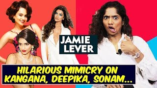 Hilarious Mimicry Of Bollywood Stars By Johnny Levers Daughter Jamie Lever | Stand Up Comedian