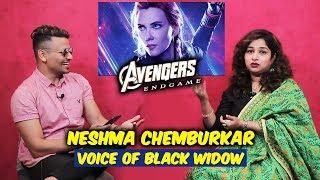 Avengers Endgame | VOICE OF BLACK WIDOW (HINDI DUBBED) | Neshma Chemburkar Exclusive Interview