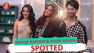 Shahid Kapoor & Kiara Advani Promotes Kabir Singh at Neha Dhupia's Show