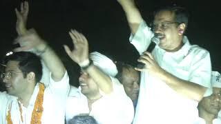 AAP National Convenor Arvind Kejriwal Road Show from South Delhi Lok Sabha