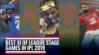 Best IPL XI of the league stage, David Warner & Shikhar Dhawan to open the innings