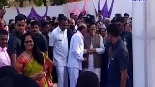 Bhesan |Vijaybhai Rupani the former mayor of Jitubhai, gave in the marriage of the son