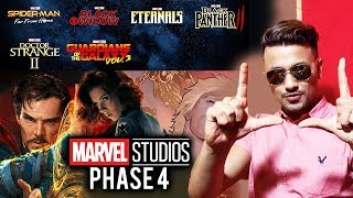 MARVEL PHASE 4 MOVIES | Explained In Hindi | Black Widow, Doctor Strange 2 and more