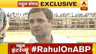 Congress President Rahul Gandhi's interview to ABP NEWS