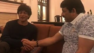 शाहरुख खान ने मनोज तिवारी से बनारस में की मुलाक़ात । पान खाने का मन बताया।