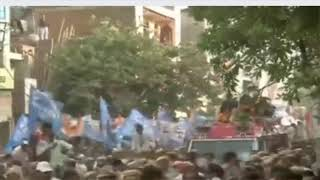 Smt. Priyanka Gandhi Holds a Road Show in Delhi