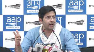 AAP South Delhi LokSabha Candidate Raghav Chadha Exposed BJP's MP Ramesh Bidhuri