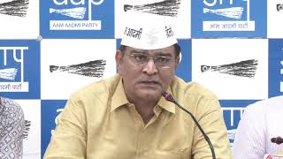 AAP West Delhi Loksabha Balbir Singh Jakhar candidate launched his constituency manifesto